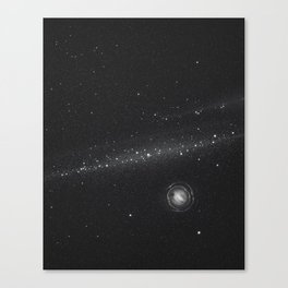 Planets lost in the vast of Space: 05 Canvas Print