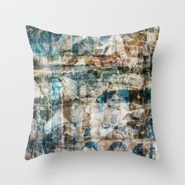 Torn Posters 1 Throw Pillow