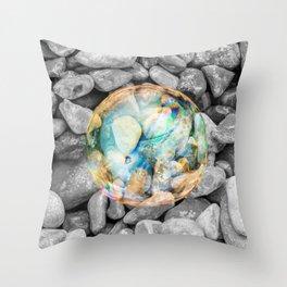 BUBBLE BEAUTY Throw Pillow