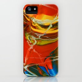 Color Explosion 3 iPhone Case