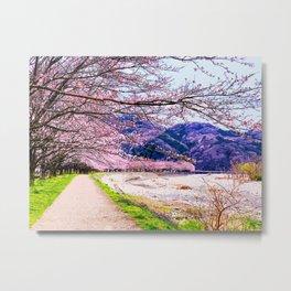 Japan - 'Spring Festival' Metal Print