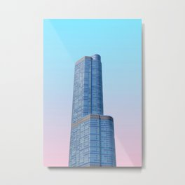 Chicago, Illinois III Metal Print