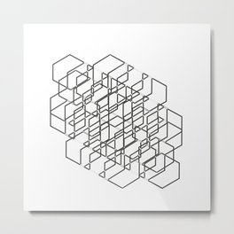 Design modern Metal Print