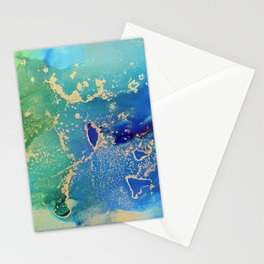 Earth From Space Stationery Cards