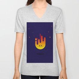 Cute fire Unisex V-Neck