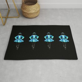 Irish Dancer Blue Rug