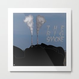 The Big Smoke - Dublin Metal Print