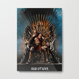 God Of Thrones Metal Print