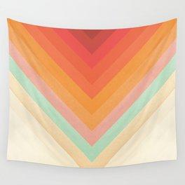 Rainbow Chevrons Wall Tapestry
