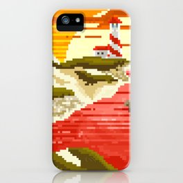 Pixel Beach iPhone Case