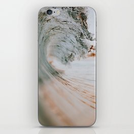 summer waves xiii iPhone Skin