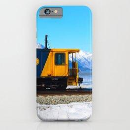 Caboose - Alaska Train iPhone Case