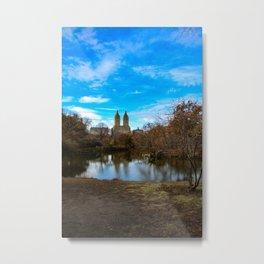 central park view Metal Print