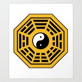 Yin Yang Bagua Art Print