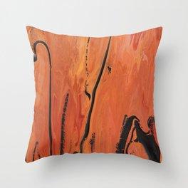 SoapsAndRoses: Salmon Rivers Throw Pillow