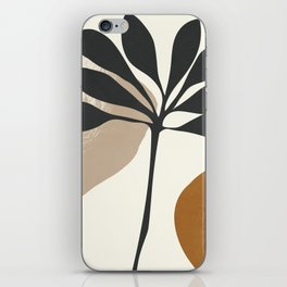 Abstract Art Plant2 iPhone Skin