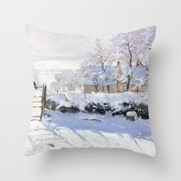 The Magpie - Digital Remastered Edition Throw Pillow