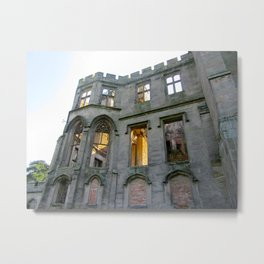 Alton Towers Castle Ruins  Metal Print