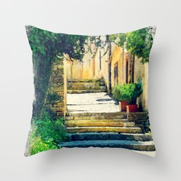 Erice art 8 Throw Pillow