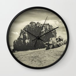Big Rock at Praia Malhada Jericoacoara Brazil Wall Clock