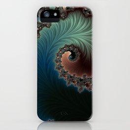 Velvet Crush - Fractal Art iPhone Case