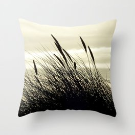 Swaying in the Breeze Throw Pillow