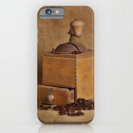 Kaffeemühle iPhone Case