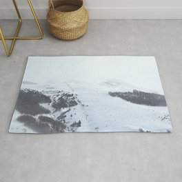 After the snow comes the sun Rug