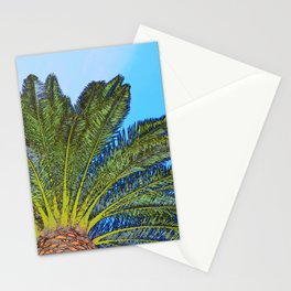 Palm Tree Fronds Stationery Cards