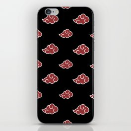 Akatsuki Clouds iPhone Skin