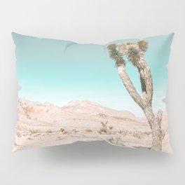 Vintage Desert Scape // Cactus Nature Summer Sun Landscape Photography Pillow Sham