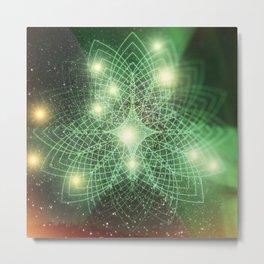 Geometry Dreaming Metal Print