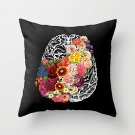 Love Your Brain Throw Pillow