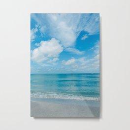Florida Ocean View II Metal Print
