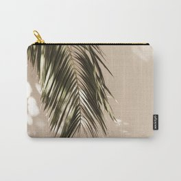 tropical palm leaves vi Carry-All Pouch