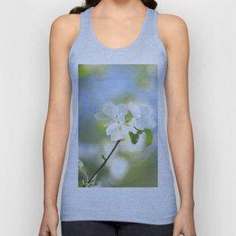 Apple Tree Branch With Flowers - Spring Mood #decor #society6 #buyart Unisex Tank Top