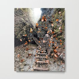 Infinite beautiful Jungle Metal Print
