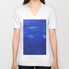 just BLUE Unisex V-Neck