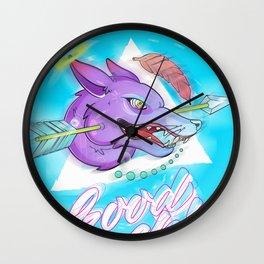 Amarok Wall Clock