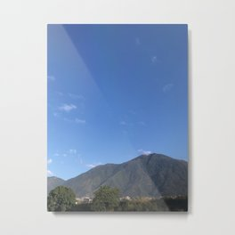 Cerro El Avila Metal Print