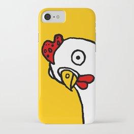 Chicken Dos Cabezas iPhone Case