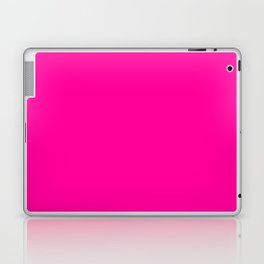 Neon Pink Solid Colour Laptop & iPad Skin