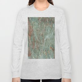 Sage and Rust Marble Long Sleeve T-shirt