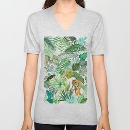 Jungle Tiger 03 Unisex V-Neck