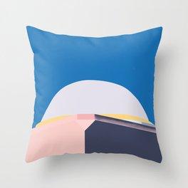 Summer Dome Throw Pillow