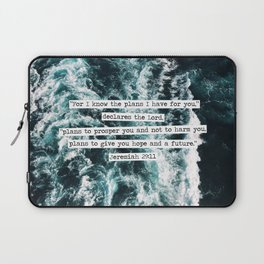 Jeremiah Ocean Laptop Sleeve