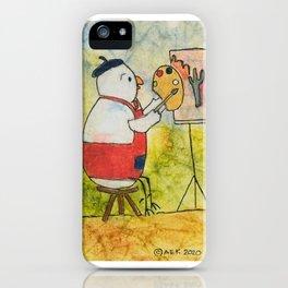 Artist Chicken iPhone Case
