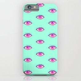 Eye Am Watching You iPhone Case