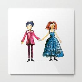 Princely couple 2 Metal Print