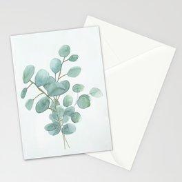 Eucalyptus Silver Dollar Stationery Cards